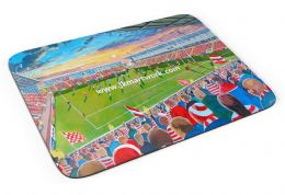 leigh sports village Premium Quality Mouse mat